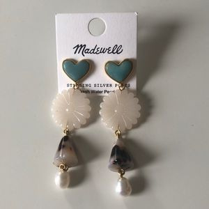 New Madewell Statement Drop Earrings